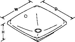Escale Vessels basin Line Drawing