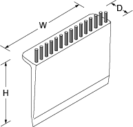 Reset Surface wiper Line Drawing