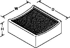 Laminar Drip tray Line Drawing